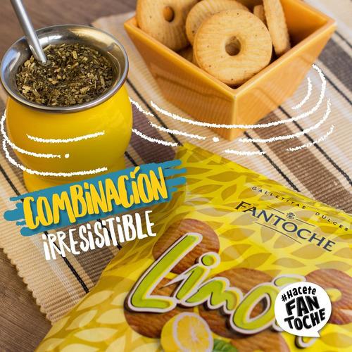 galletitas limon con jengibre fantoche 300g galletas dulces