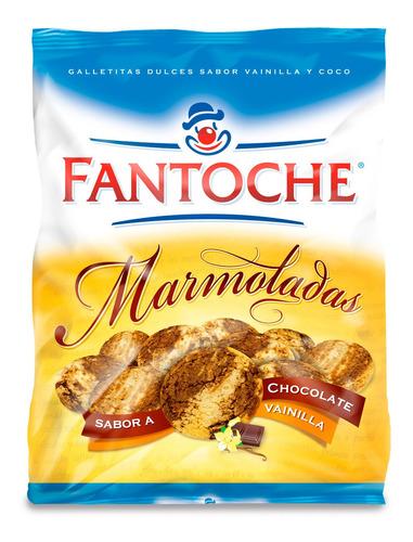 galletitas marmoladas chocolate y vainilla 350g fantoche