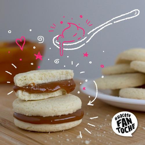 galletitas tapitas fantoche 230g galletas dulces caja x12