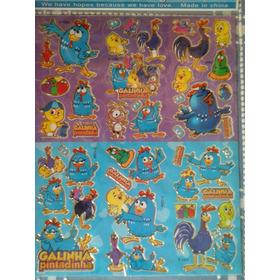 Gallina Pintadita Stickers Original Varios Modelos Grande A4