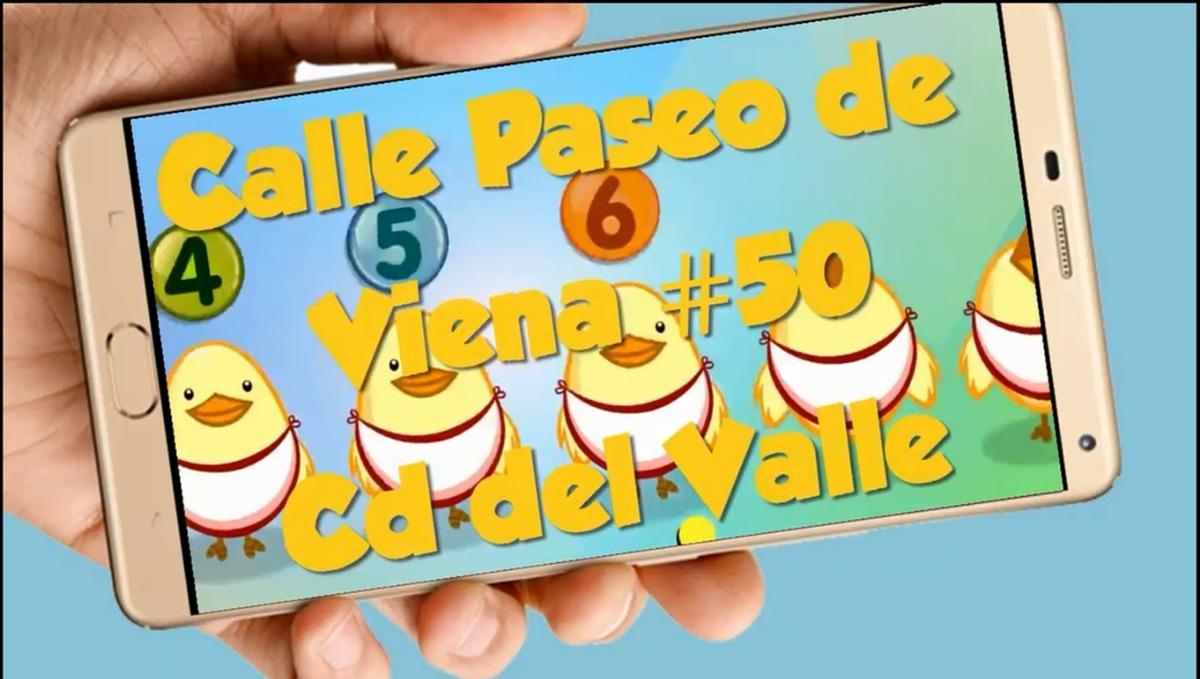 Gallina Pintadita Vídeo Tarjeta Invitación Cumpleaños What