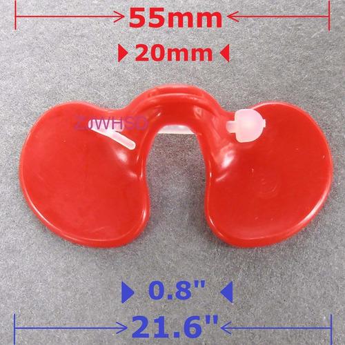 gallinas lentes rojos