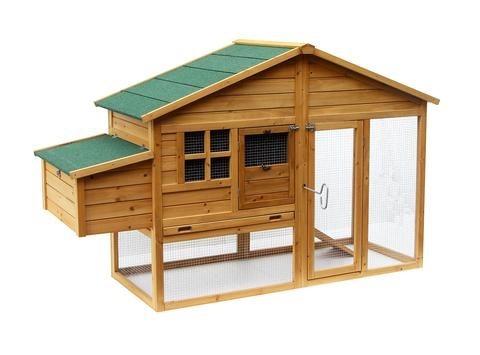 Gallinero Casa Para Conejo Mascotas Madera 1 88 Mts 74 6 100 00