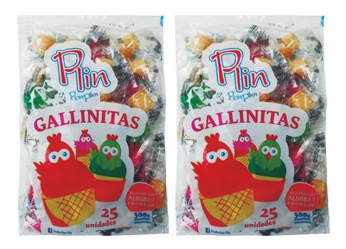gallinitas azucaradas - bolsa 25un - barata la golosineria