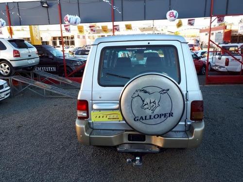 galloper 3.0 v6 super luxo mec