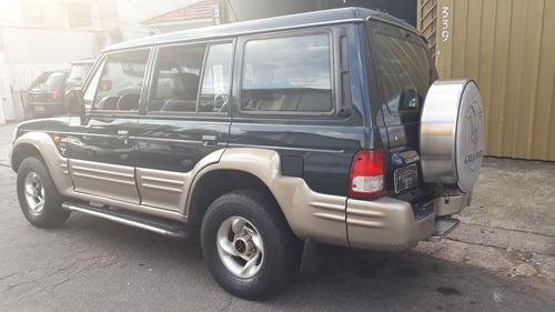 galloper v6 4x4 automático 7 lugares kit gás completo - 1999