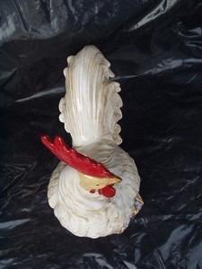 galo  de  porcelana -