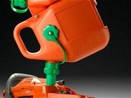 galão gasolina husqvarna para motosserra combustivel / óleo