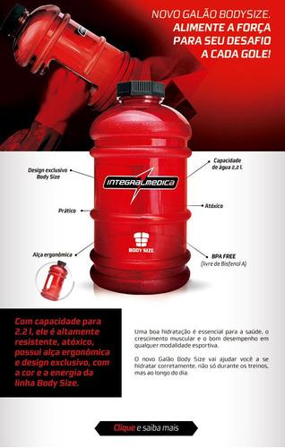 galão integral médica - 2,2 litros(2 unidades)