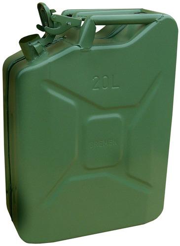 galão para gasolina de metal 20 litros com certificação ce