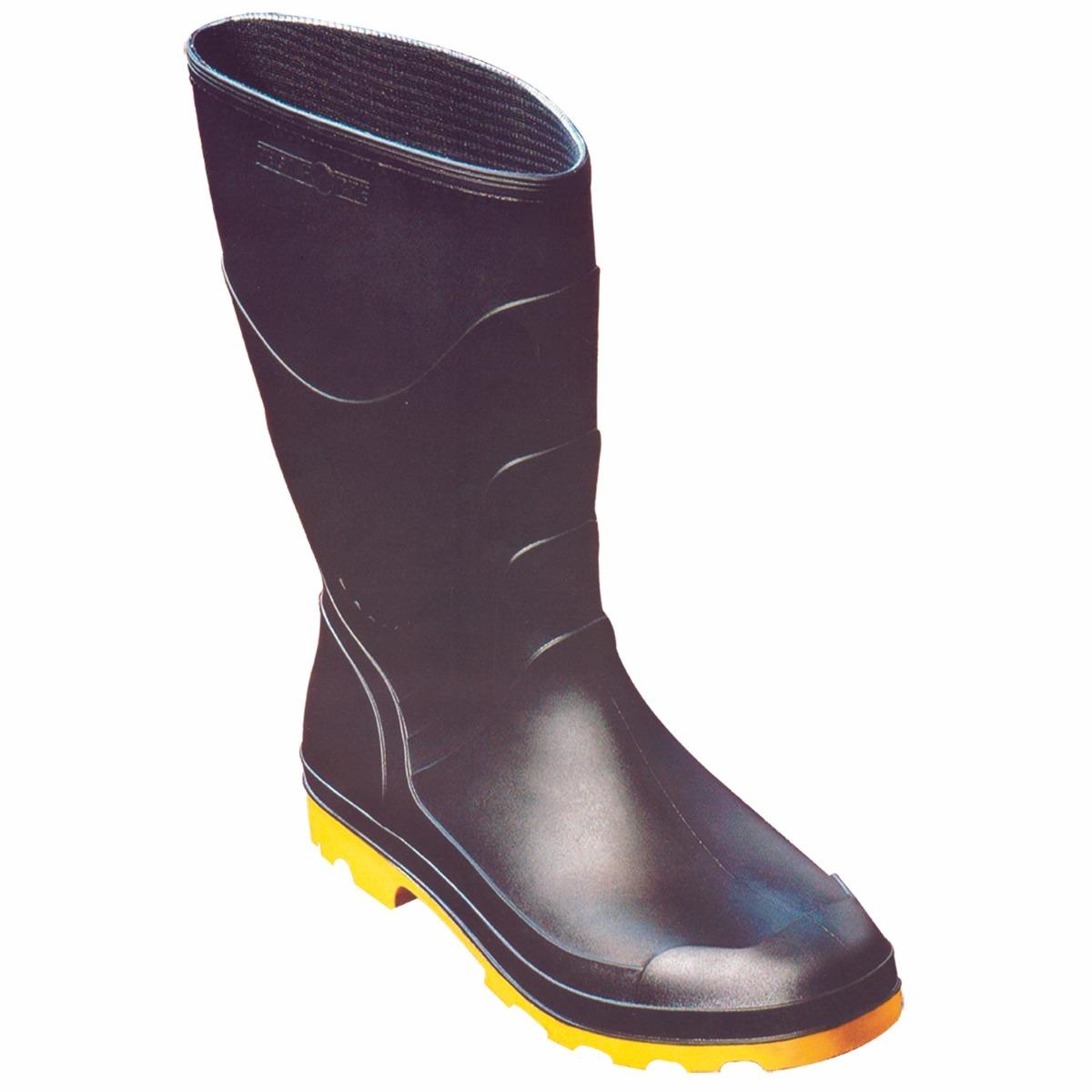e92cd2f8537 galocha de chuva pega forte borracha solado amarelo - bota. Carregando zoom.