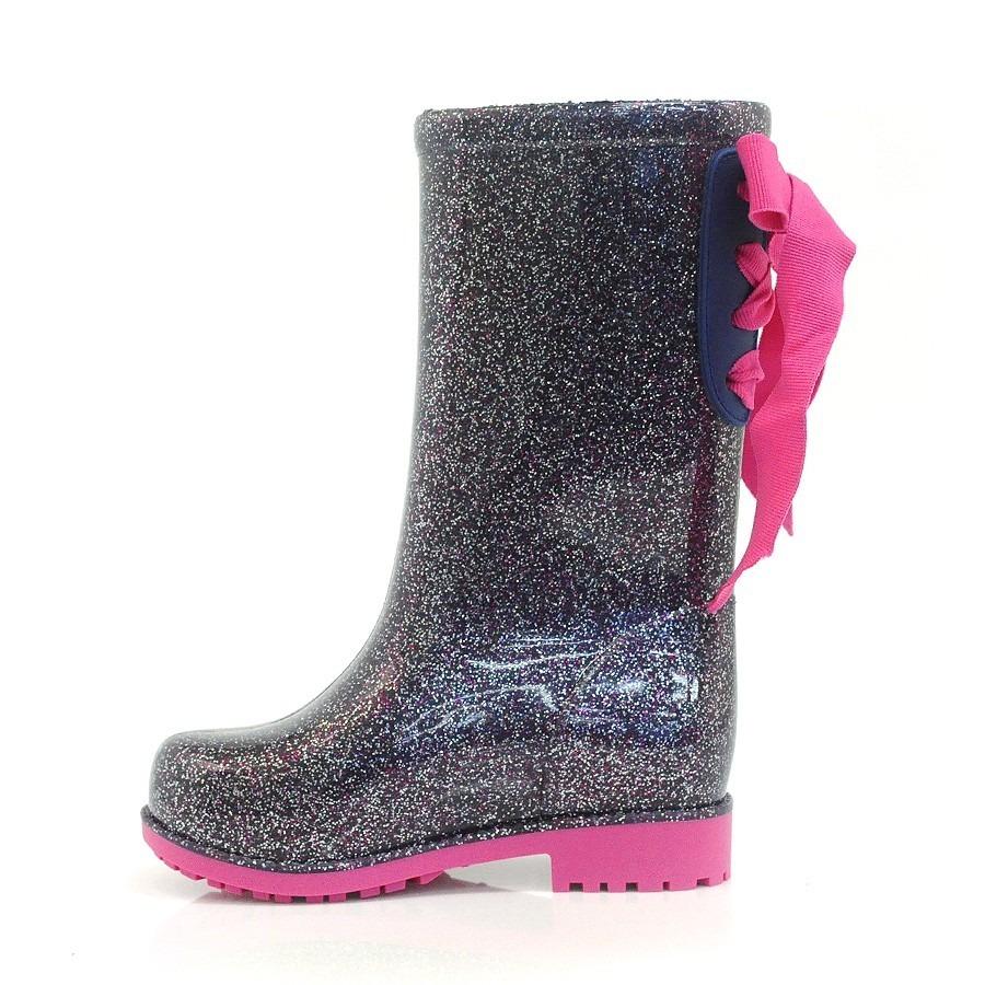 cb3d918e0fa Carregando zoom... bota galocha barbie power fashion glitter ...