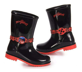 6338ccb68f Galocha Ladybug Meninas Botas - Sapatos com o Melhores Preços no Mercado  Livre Brasil
