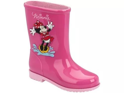 a9ae99e49df Galocha Infantil Menina Minnie Disney Grendene 21753 - R  63