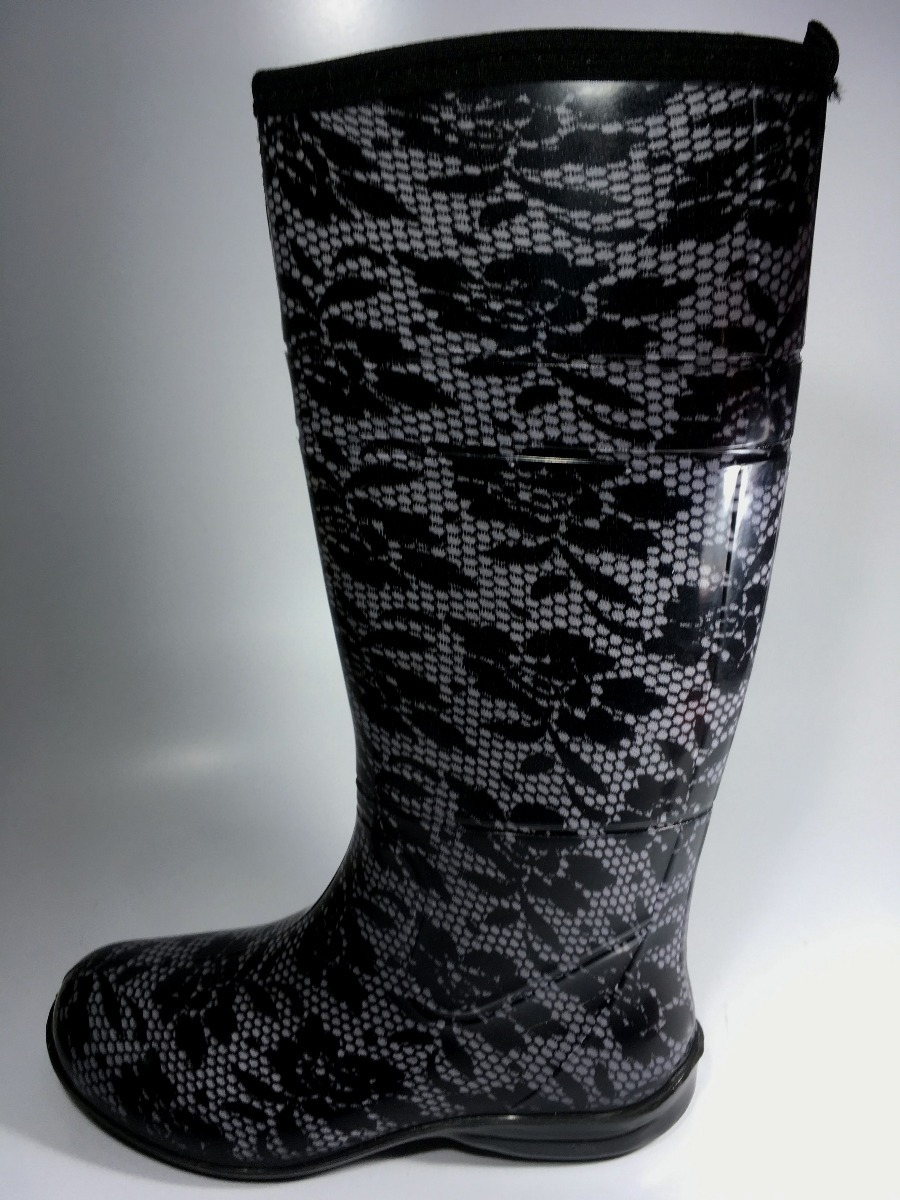 69e3c31d2b6 Carregando zoom... 4 bota feminina galocha pat estilo montaria impermeável