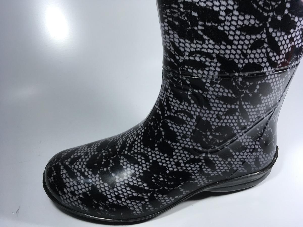 cd7aa5877f7 Carregando zoom... bota feminina galocha pat estilo montaria impermeável