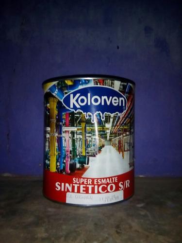 galon de esmalte sintetico azul