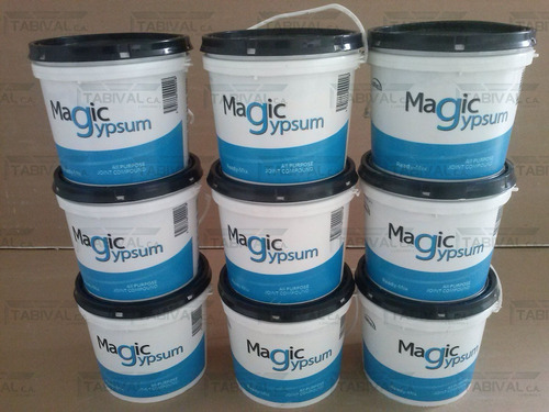 galon pasta profesional magic gypsum (mastique, drywall)