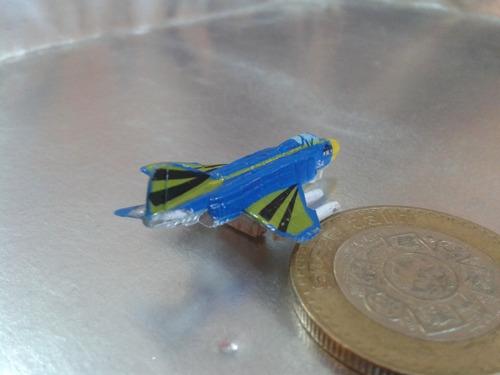 galoob - avion caza tipo micro machines de 1989