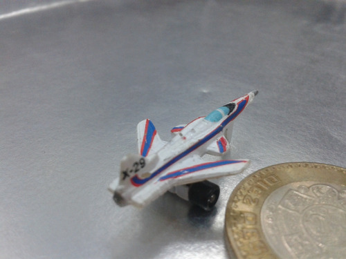 galoob - avion x-29 tipo micro machines de 1987