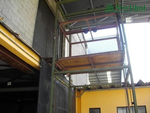 galpao industrial para venda e locacao, centro (embu), embu. - v-705