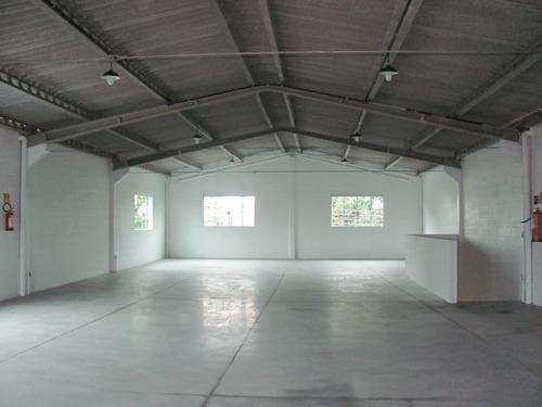 galpao para locacao na praia grande - 500 m2, ( 2 andares )