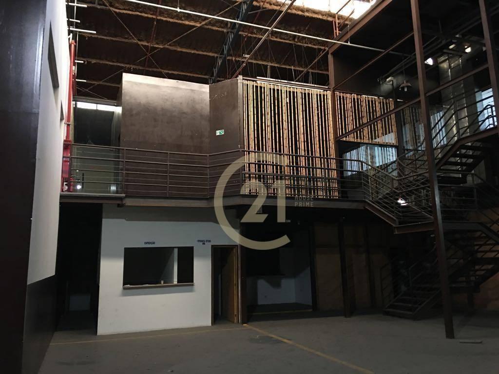 galpão 2.065m² pé direito alto mezanino várias salas e ambientes muito conservado locação na vila leopoldina, studio escolas, localização privilegiada - ga0260