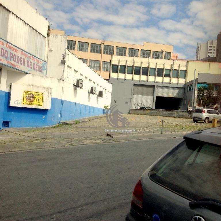galpão, 3600 m² - venda por r$ 20.000.000,00 ou aluguel por r$ 120.000,00/mês - centro - guarulhos/sp - ga0433