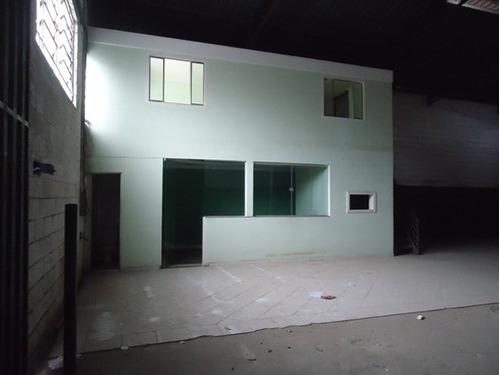 galpão 360m² com escritório, próximo à via expressa de contagem. - 392