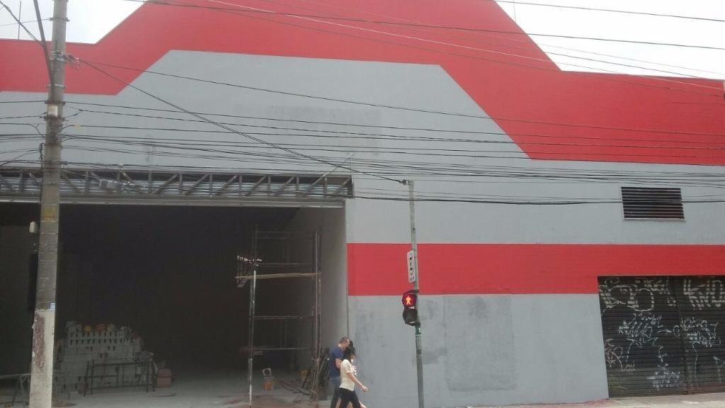 galpão 500 m2 rua antonio de barros - ga0020