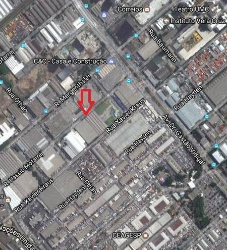 galpão 5.947m² locação, estruturado, entrada por 2 ruas excelente condição vila leopoldina. - ga0233
