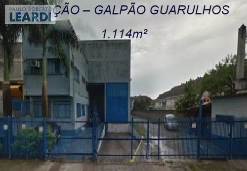 galpão cidade industrial satélite de são paulo - guarulhos - ref: 569764