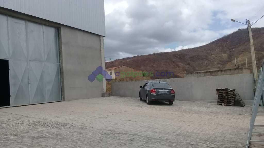 galpão com 450 m² próximo à rodovia br 232 em pompos - pe. - 1450