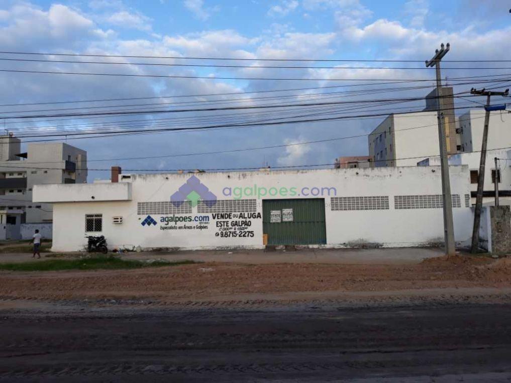 galpão com 800 m² e 1.600 m² br 230 beira de pista cabedelo - 1349