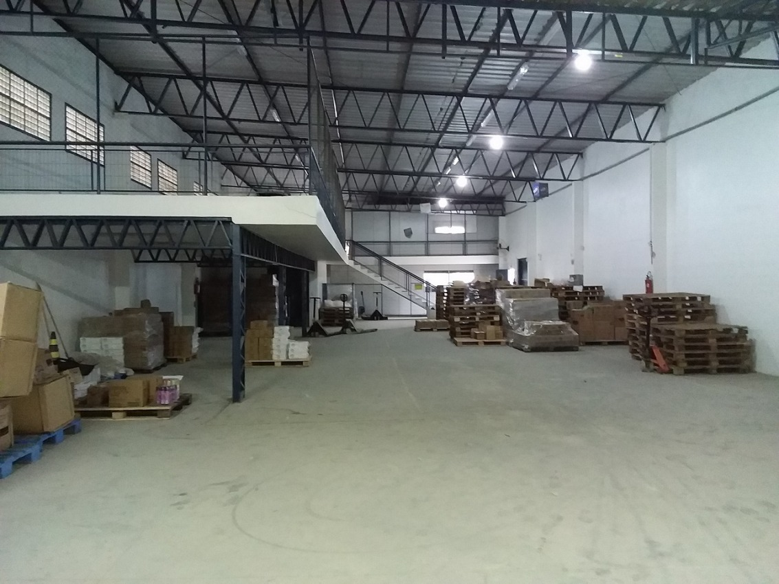 galpão com mezanino e 2 escritórios 595m - 75425