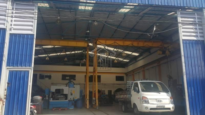 galpão com. para locação no bairro vila tibiriçá - 10426gi