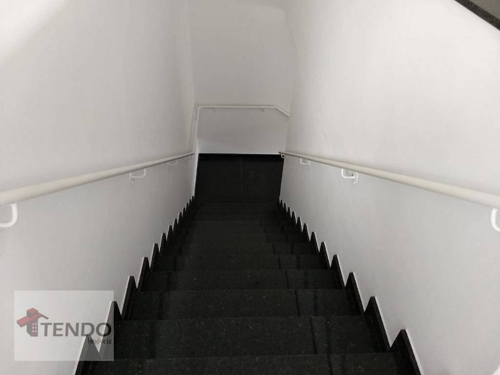 galpão comercial 282 m² - piraporinha - diadema/sp - ga0014