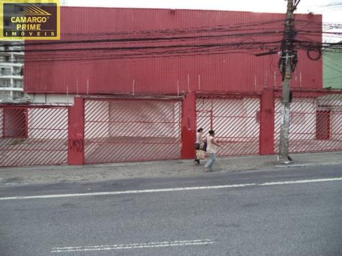 galpão comercial boa localização a 300 metros da estação de metro faria lima e shopping eldorado. - eb64949