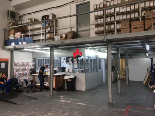 galpão comercial com área de 480 m² à venda ou locação no tatuapé - tp14511