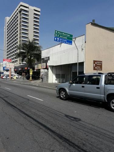 galpão comercial em rua de muito movimento sbc - 1224v