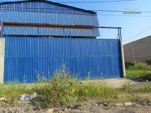 galpão comercial para locação, alterosas, serra. - ga0049