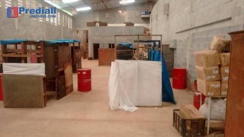 galpão comercial para locação, cajamar, cajamar. - ga0032