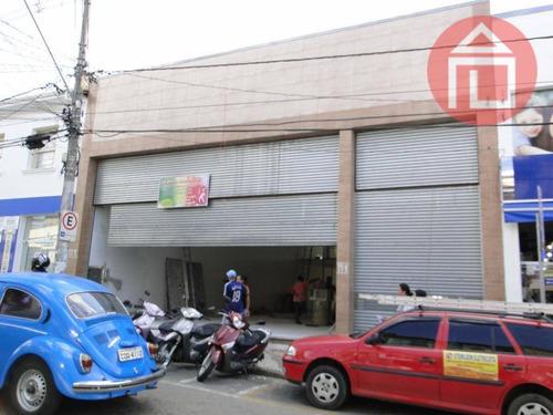 galpão comercial para locação, centro, bragança paulista. - ga0051