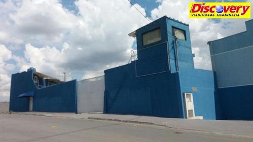 galpão comercial para locação, cidade industrial satélite de são paul - ga0115
