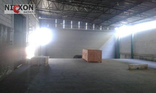 galpão comercial para locação, cidade industrial satélite de são paulo, guarulhos. - ga0026