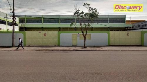 galpão comercial para locação, cidade industrial satélite de são paulo, guarulhos. - ga0104