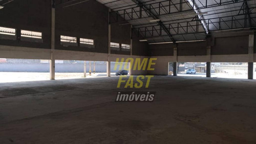 galpão comercial para locação, cidade industrial satélite de são paulo, guarulhos. - ga0153
