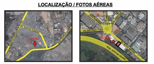 galpão comercial para locação, cidade industrial satélite de são paulo, guarulhos. - ga0171