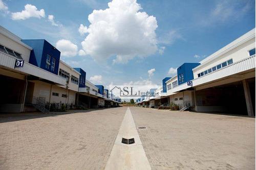 galpão comercial para locação, distrito industrial, jundiaí. - ga0021