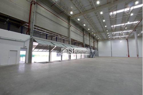 galpão comercial para locação, distrito industrial, jundiaí. - ga0022